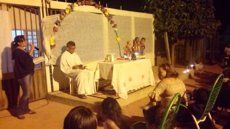 Procissão e missa marcam encerramento do Festejo de Santa Rita de Cássia