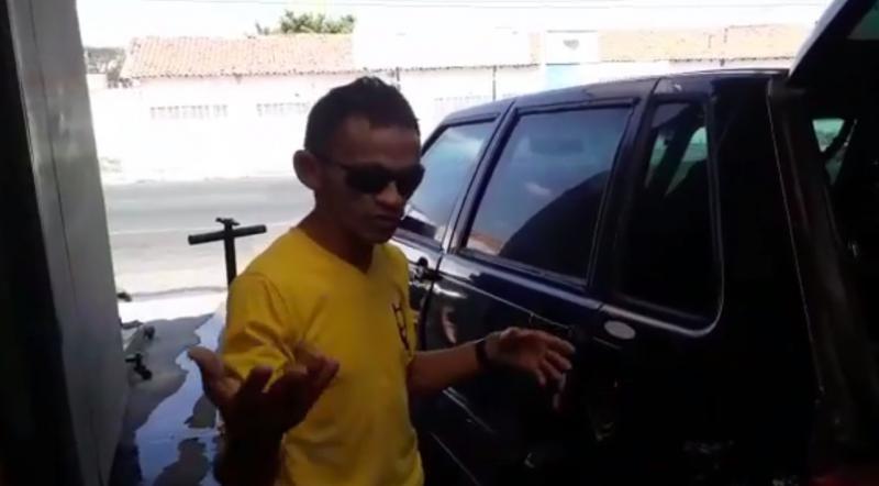 Gleyfy Brauly faz campanha para reformar seu carro no 'Lata Velha' do Caldeirão do Huck