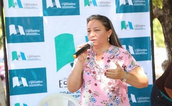 PF pede 30 dias para concluir perícia de vídeos do processo de cassação da prefeita de Esperantina