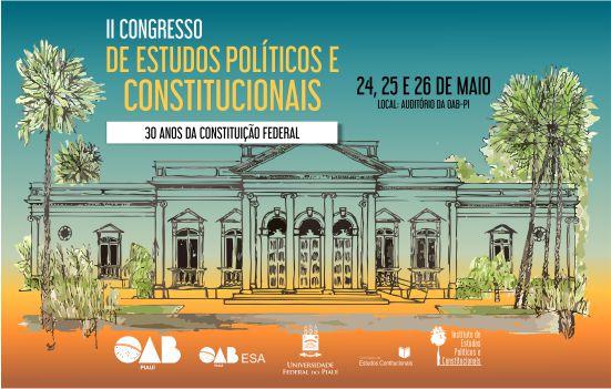 Congresso debate 30 anos da Constituição na OAB-PI