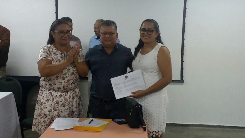 Vereadora de Cabeceiras toma posse como presidente da Força Sindical no Piauí