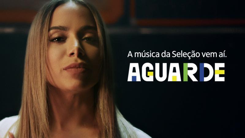 Anitta é escalada para interpretar música da Seleção