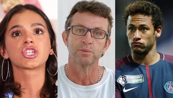Apresentador do TV Fama palpita no relacionamento de Bruna e Neymar