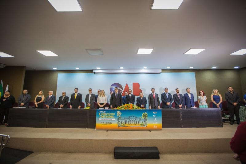 Homenagens marcam abertura do II Congresso de Estudos Políticos