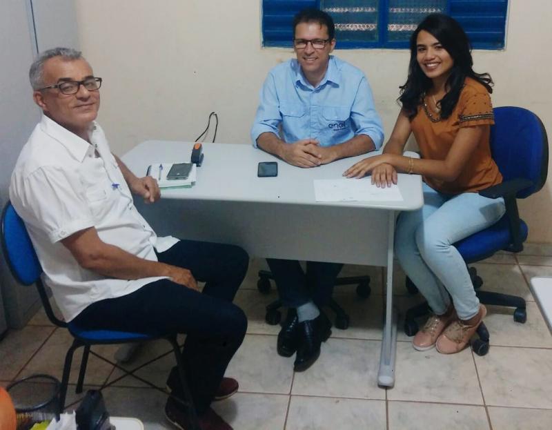 Prefeito Paulo Lustosa se reuniu com o responsável da Enel Power