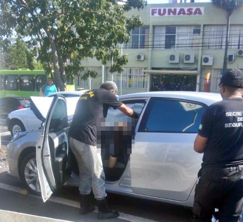 Agente penitenciário é encontrado morto dentro de carro em Teresina