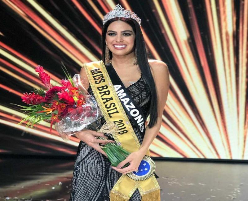 Candidata do Amazonas vence Miss Brasil 2018