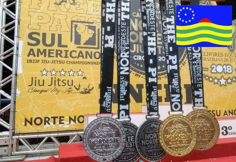 Madeiro é destaque na 15ª Edição do Campeonato Norte Nordeste Brasilian de Jiu-Jitsu 2018