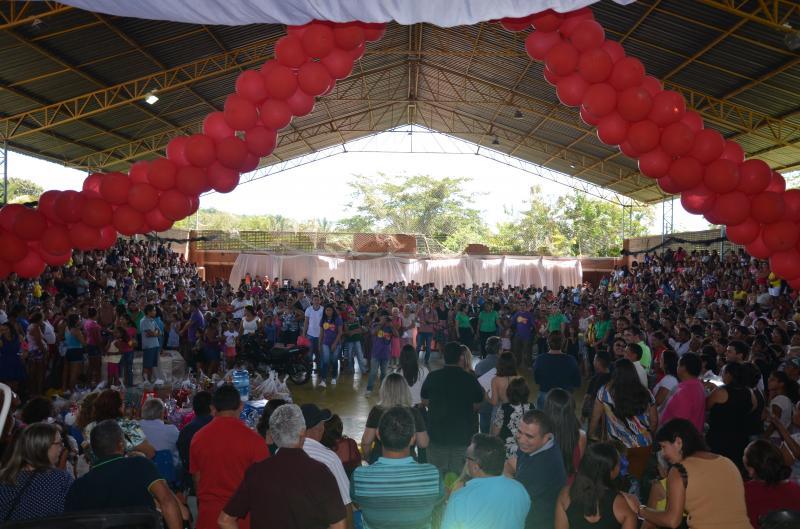 Prefeitura de Monsenhor Gil promove grande festa em comemoração ao dia das mães