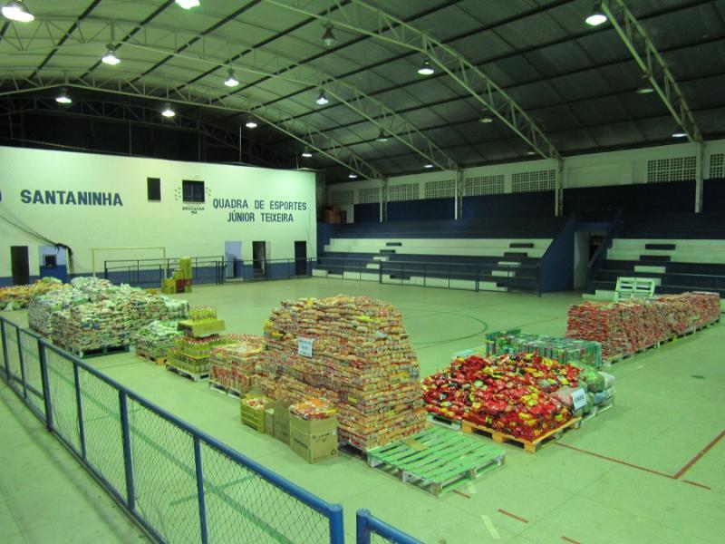 6ª Expoeiras arrecada mais de 24 toneladas de alimentos