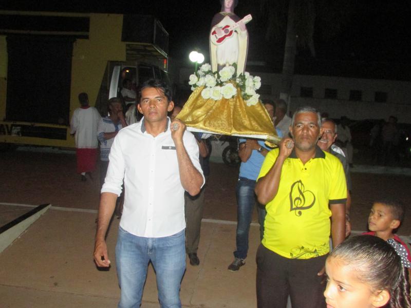 Procissão marca o encerramento dos festejos de São Gonçalo
