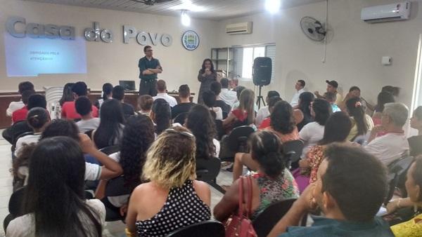Audiência pública em Colônia do Gurguéia-PI,  gestão democrática, ações transparentes.