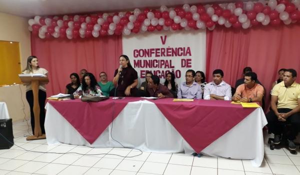 Landri Sales realiza a sua V Conferência Municipal de Educação