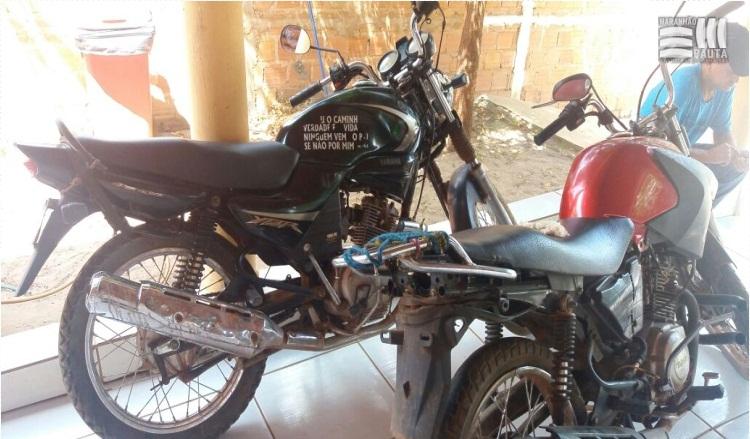 Motos roubadas são recuperadas em blitz educativa em Matões