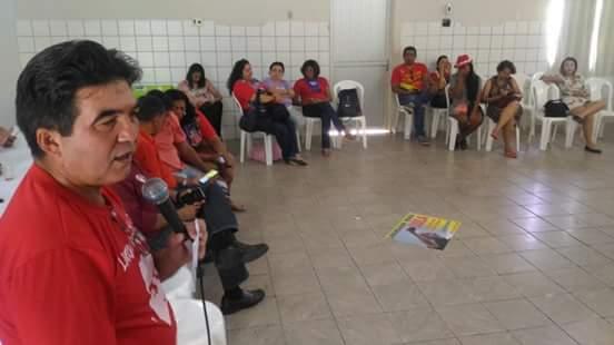 Francisco Limma (PT) registra lançamento de Pré-Candidatura de Lula a Presidente