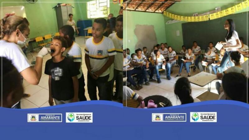 Prefeitura Municipal de Amarante Beneficia Ações em Saúde bucal na Comunidade Emparedada