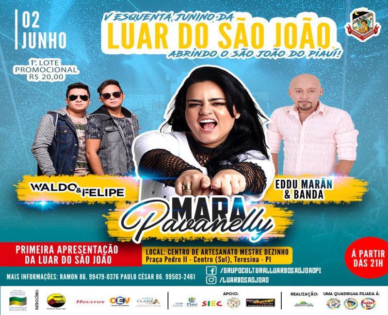 Vem aí o V esquenta da quadrilha junina mais premiada do Piauí