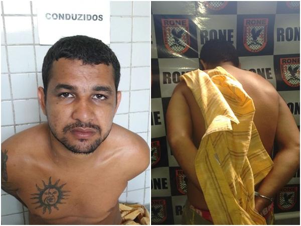 Bandido é preso após roubar vigia de escola em Teresina