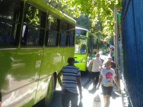 Motoristas e cobradores param as atividades em Teresina nesta quarta