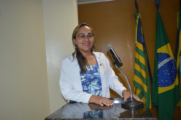 Vereadora Hélvia Almeida - PSD, anuncia audiência com Presidente da Agespisa
