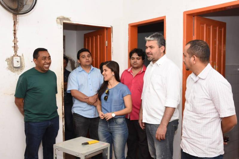 Prefeito Joel Rodrigues visita Unidades Básicas de Saúde na zona rural