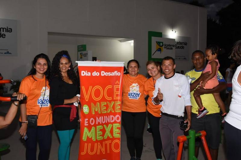 Dia do Desafio movimenta a cidade e incentiva a prática de atividades físicas nesta quarta