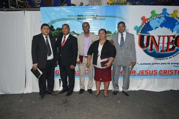 União das Igrejas Evangélicas de Guadalupe - UNIEG elege sua primeira diretoria