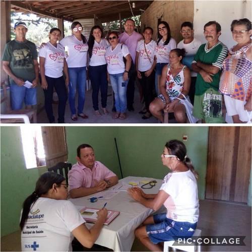 Secretaria Municipal de Saúde leva atendimento para zona rural de Guadalupe
