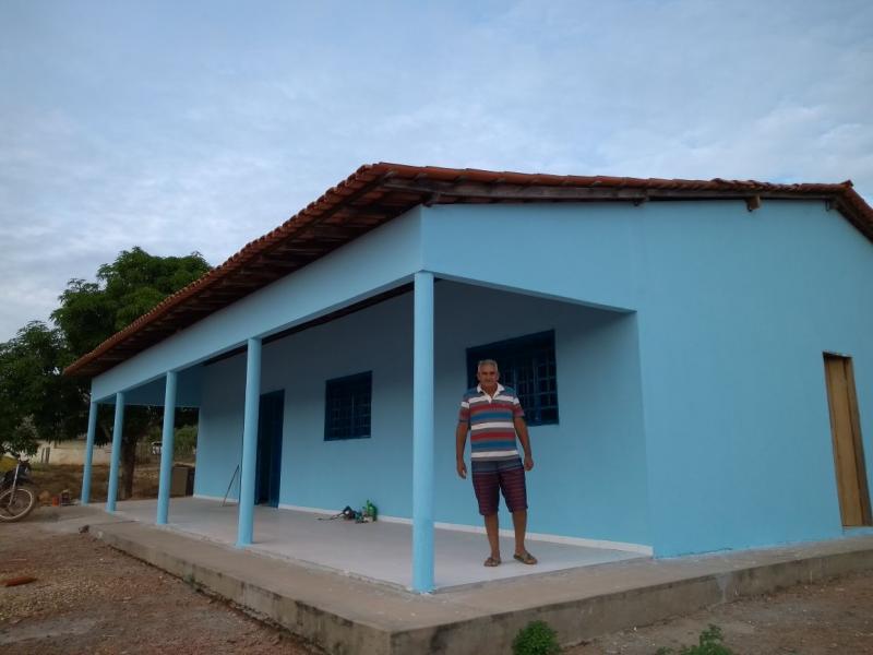 Administração Seriedade e Trabalho finaliza posto de saúde do Povoado Santa Fé