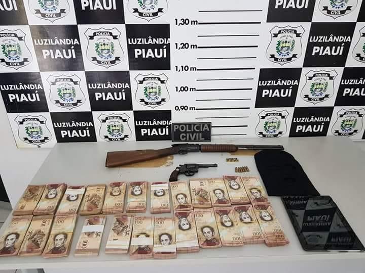 Polícia cumpre mandados de prisão preventiva em Luzilândia