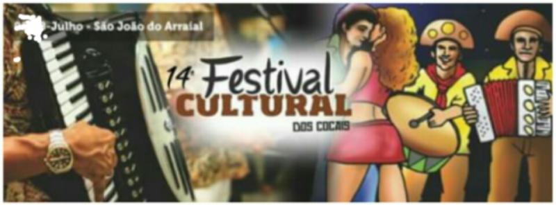 Confirmado: O XIV Festival Cultural dos Cocais será realizado de 05 a 08 de Julho
