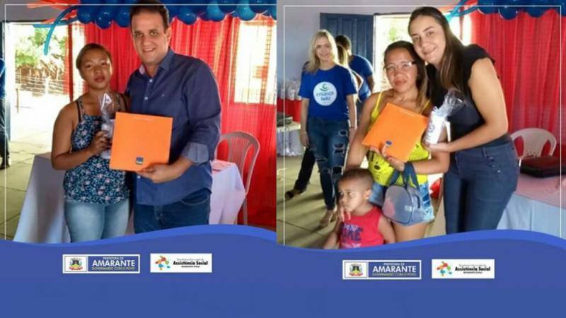 Prefeitura Municipal entrega 200 livros pelo programa Criança Feliz em Amarante