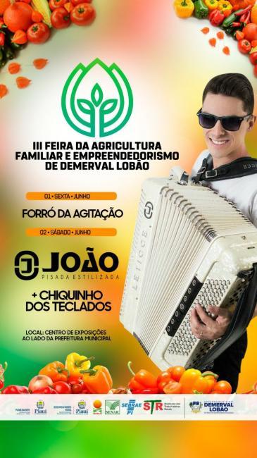 'III Feira da Agricultura Familiar e Empreendedorismo' de Demerval Lobão (PI)