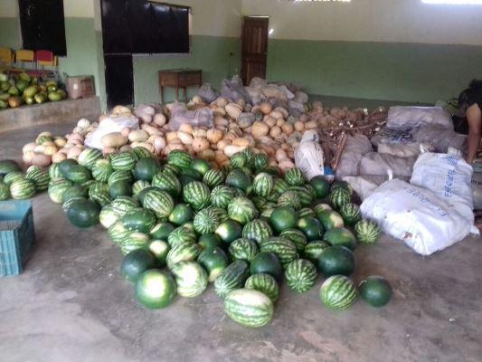 Serviço social: Distribuição de alimentos do PAA em Aliança do Gurgueia