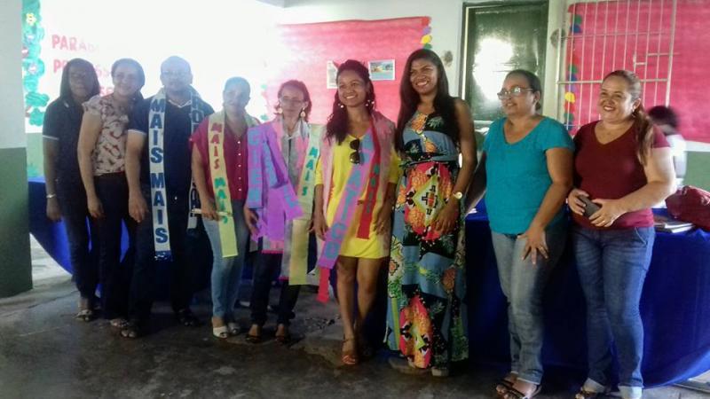 Demerval Lobão: Núcleo gestor e alunos da U. E. Jacob Barbosa prestam homenagens à equipe docente