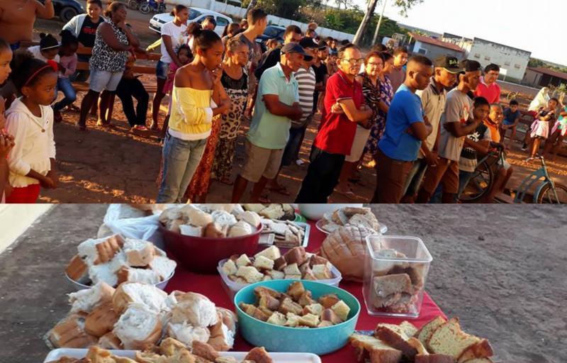 Café da manhã compartilhado marca início da trezena de Santo Antônio em Landri Sales