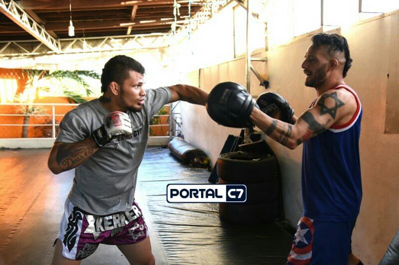 Luís 'Buda' fala sobre preparação para evento de MMA em Amarante