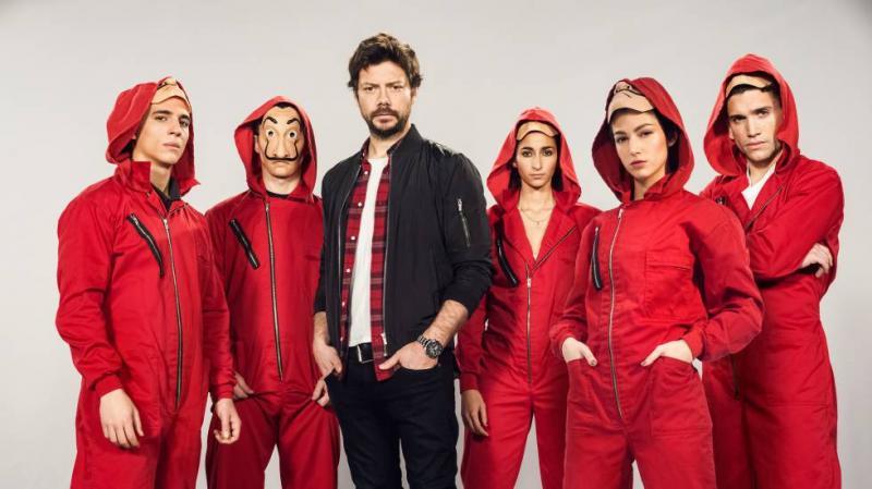 'La Casa de Papel' terá nova temporada na Netflix