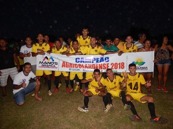 Pitombeira é campeão do campeonato agricolandense de futebol 2018