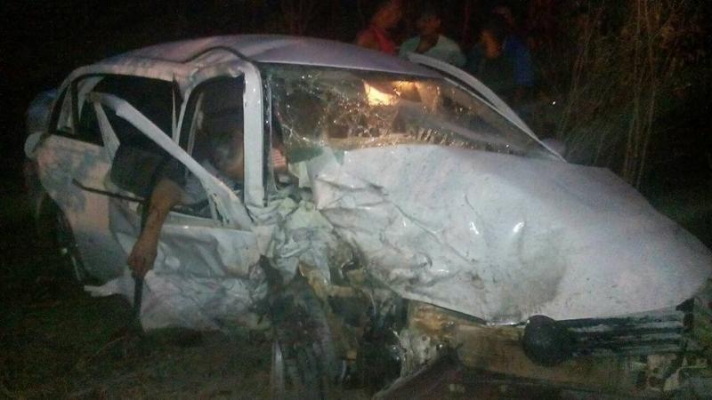 Ultrapassagem indevida ocasiona colisão frontal na BR 316 em Lagoa do Piauí