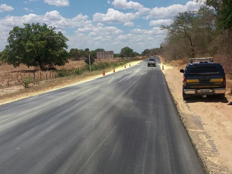 Colisão frontal deixa um morto na BR-316 em Lagoa do Piauí
