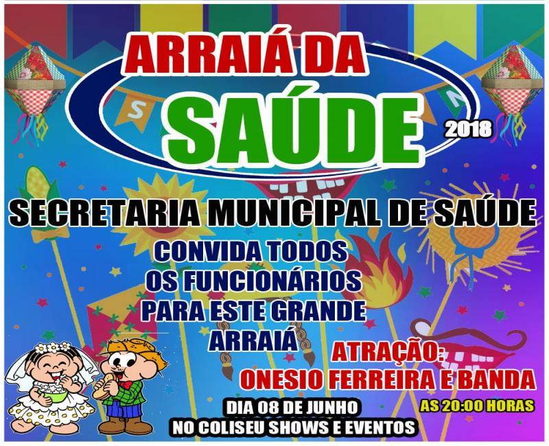 Prefeitura e secretaria de saúde de Valença do Piauí realizarão  festa junina