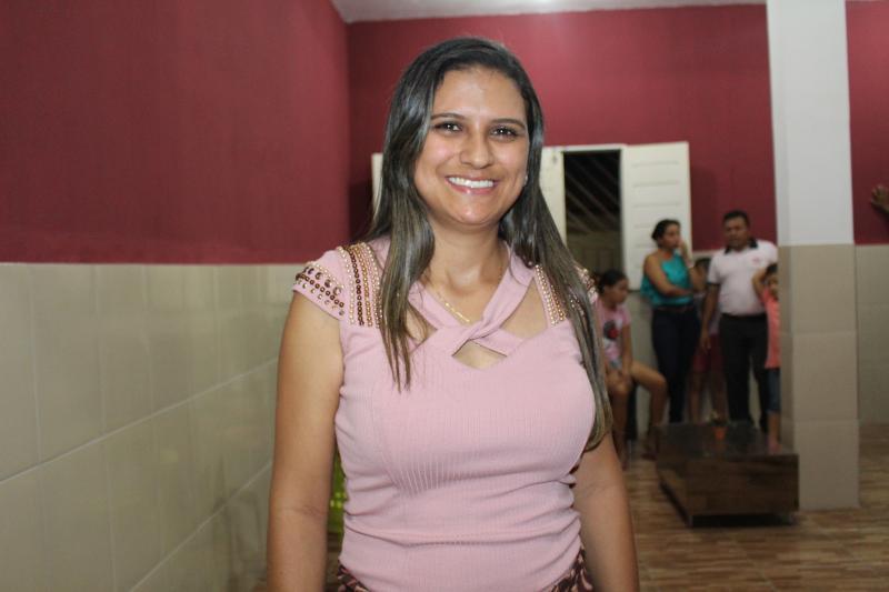 Primeira-dama de Matias Olímpio parabeniza a cidade pelos 64 anos de emancipação