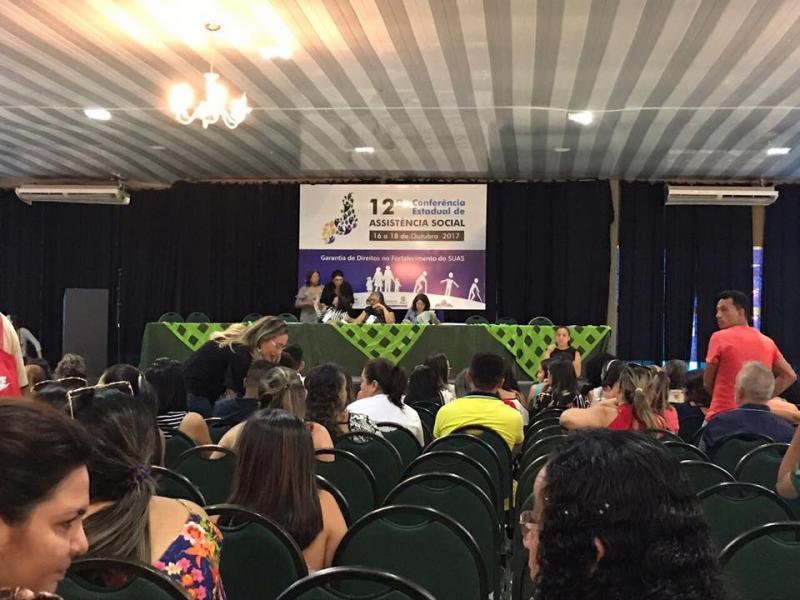 Secretária e presidente do CRAS de São Pedro participam de conferência em Teresina