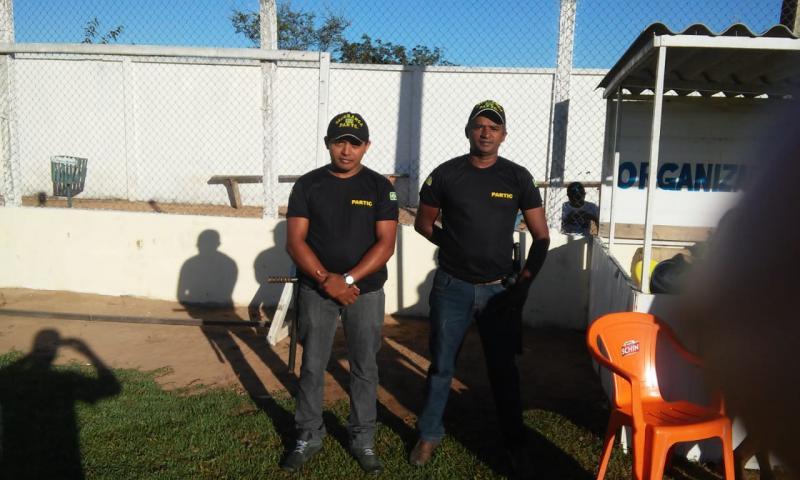 Campeonato municipal de futebol conta com segurança durante os jogos