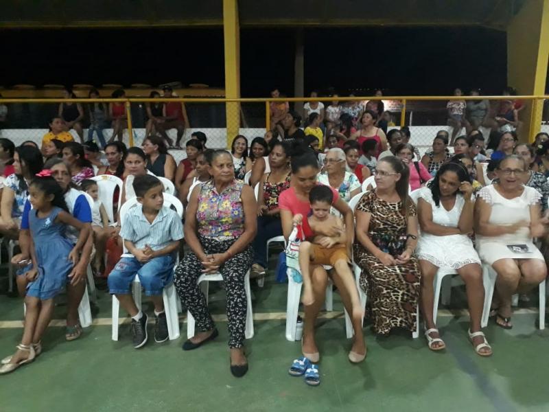 Prefeitura de Pau D'Arco realizou festa em homenagem às mães