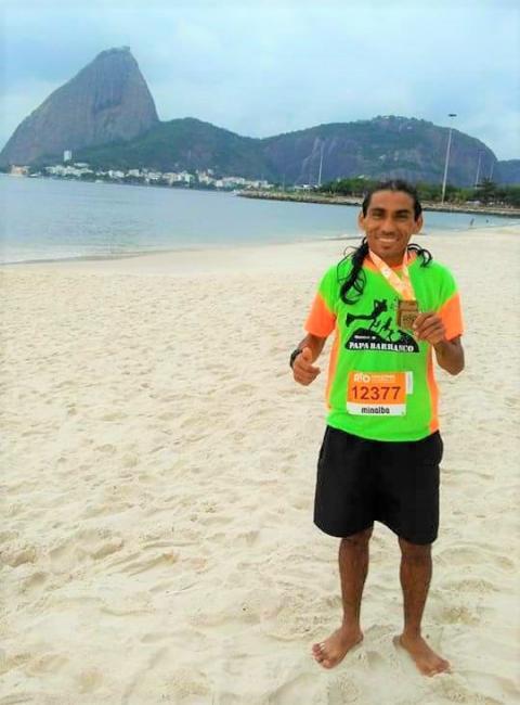 Joaquimpirense participa da Maratona Internacional do Rio de Janeiro
