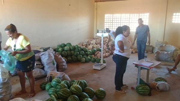 Serviço Social de Colônia do Gurgueia fez a 1ª entrega de alimentos do PAA, PI/2017/02/0040