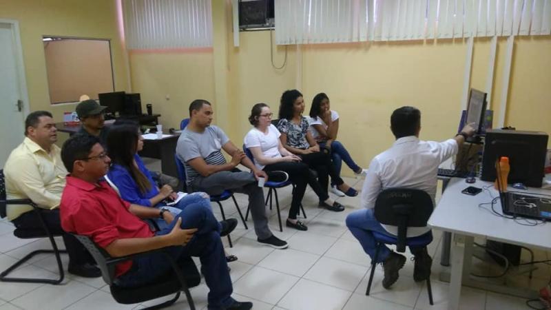Profissionais da Comunicação recebem treinamento sobre novo site institucional do município