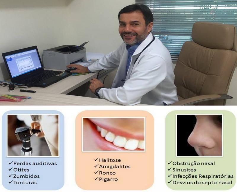 Dr.Cláudio Máximo Guerra Otorrinolaringologista atendera dia (08/06) em Gilbués-PI